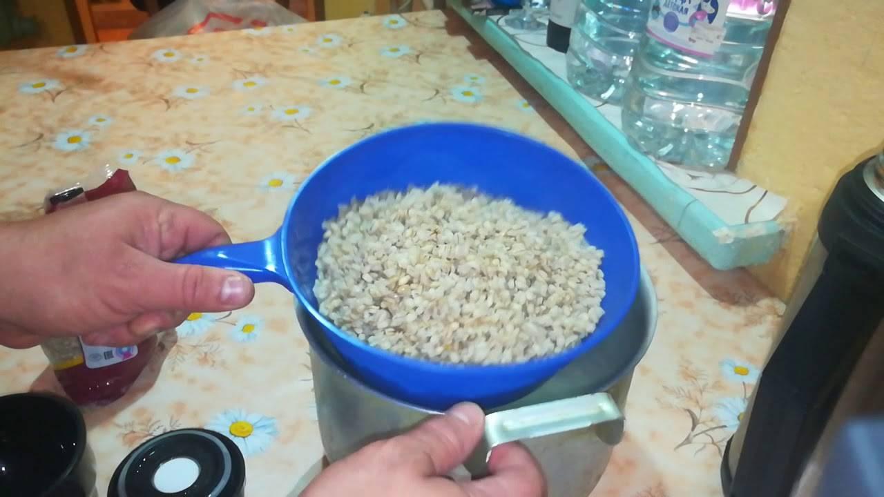 Сколько варить пшеничную крупу на молоке и воде?