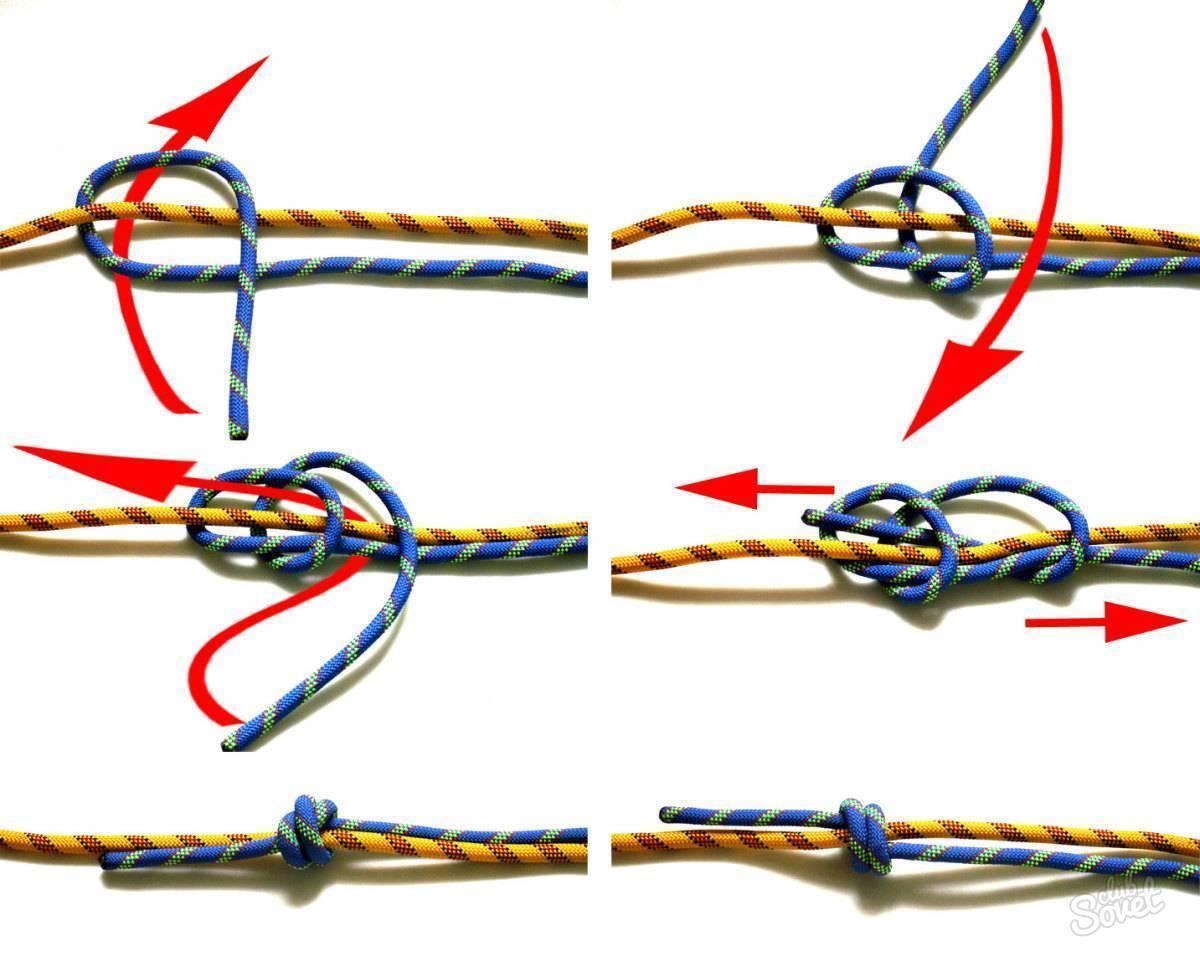 Как завязать узел «мертвая хватка» — полезные советы