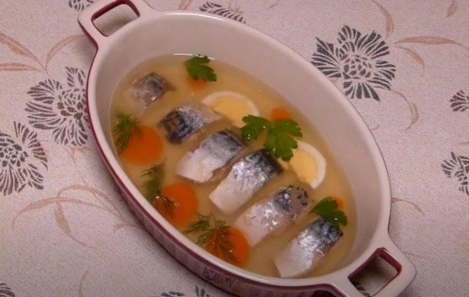 Заливное из рыбы: простые и вкусные рецепты