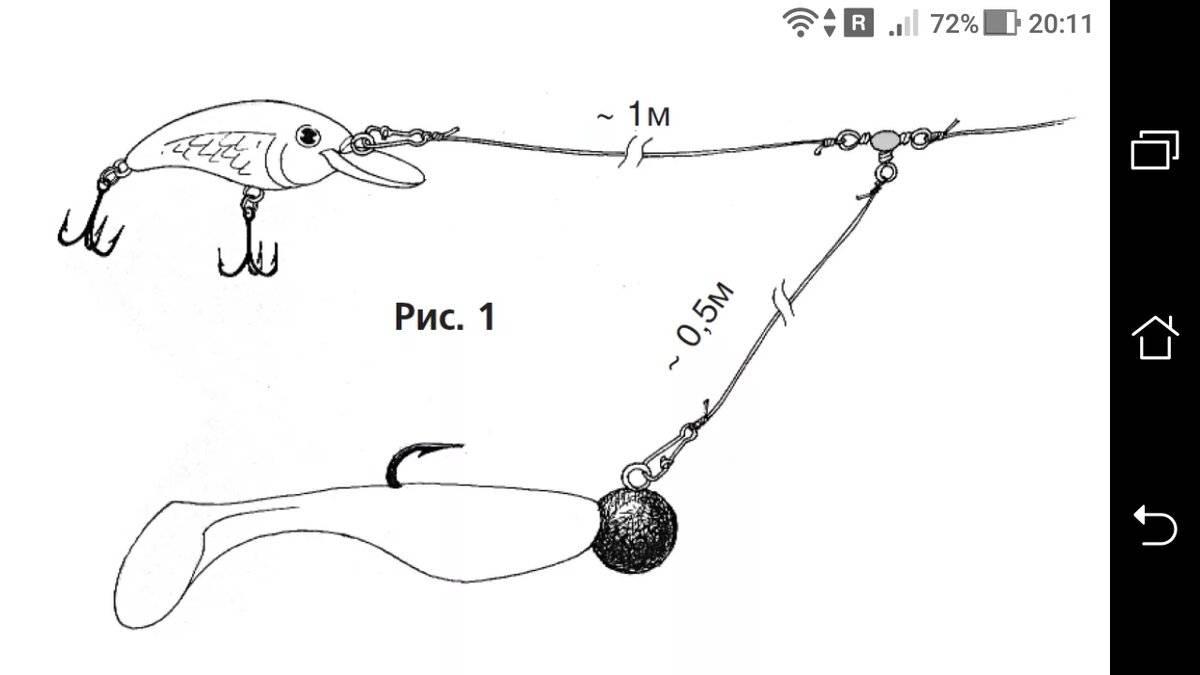 Техника ловли судака троллингом и выбор снасти и приманок
