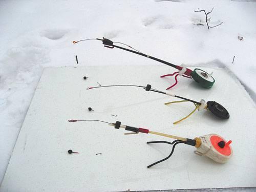 Ловля густера зимой