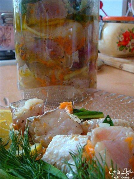 Маринованный толстолобик рецепт с фото пошагово