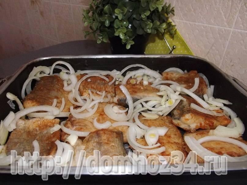 Щука жареная на сковороде в сметане – вкусный рецепт