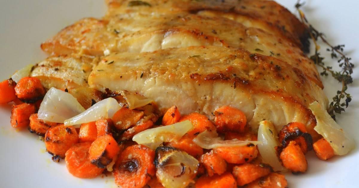 Рыба запеченная в фольге с овощами в духовке