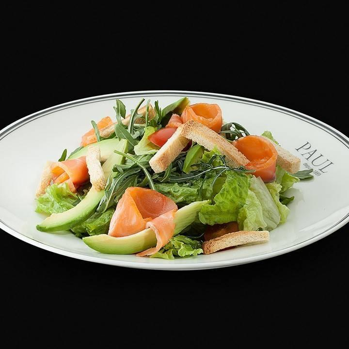 Салат с авокадо и семгой – изысканная закуска для настоящих гурманов: рецепт с фото и видео