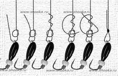Как привязать мормышку к леске с колечком и без: лучшие способы, схемы и инструкции