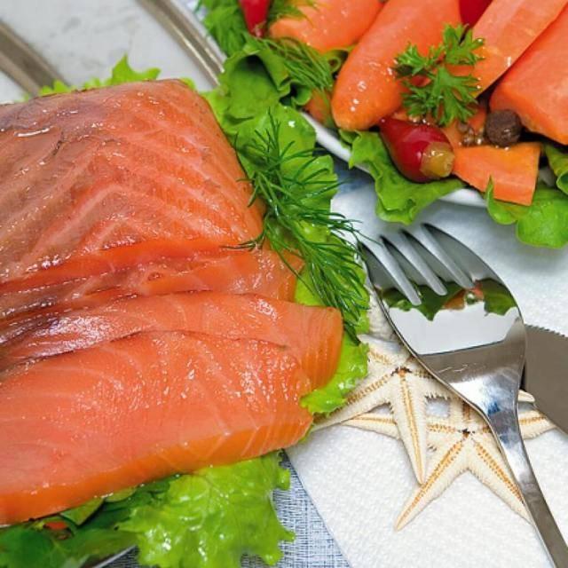 Копченый кижуч в домашних условиях: рецепт приготовления, калорийность