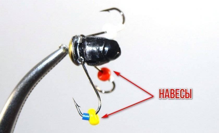 Техника зимней рыбалки набезмотылку