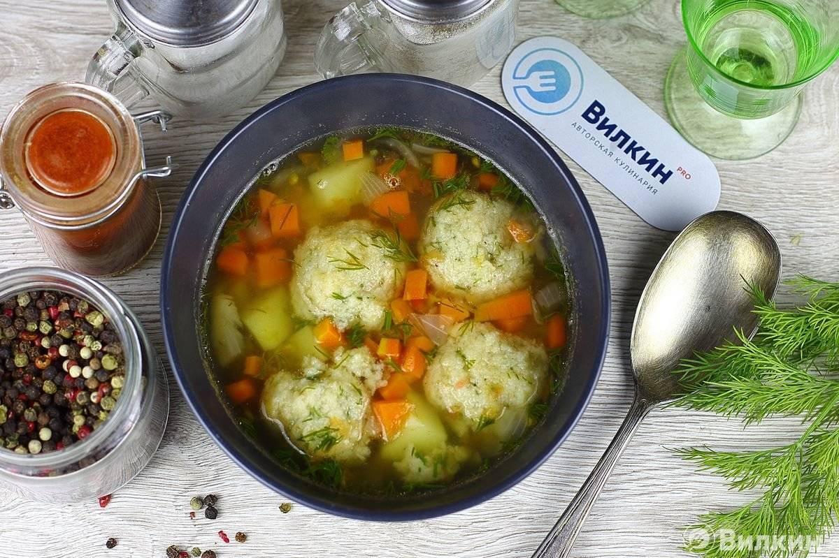 Рецепт супа с рыбными фрикадельками для диетического стола №5 - пошаговый фото рецепт