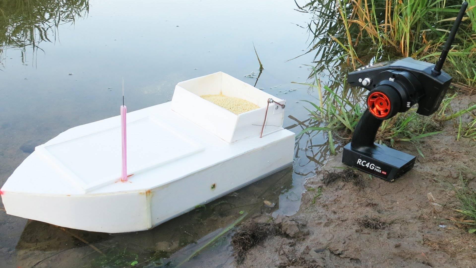 Делаем «кораблик» для рыбалки своими руками