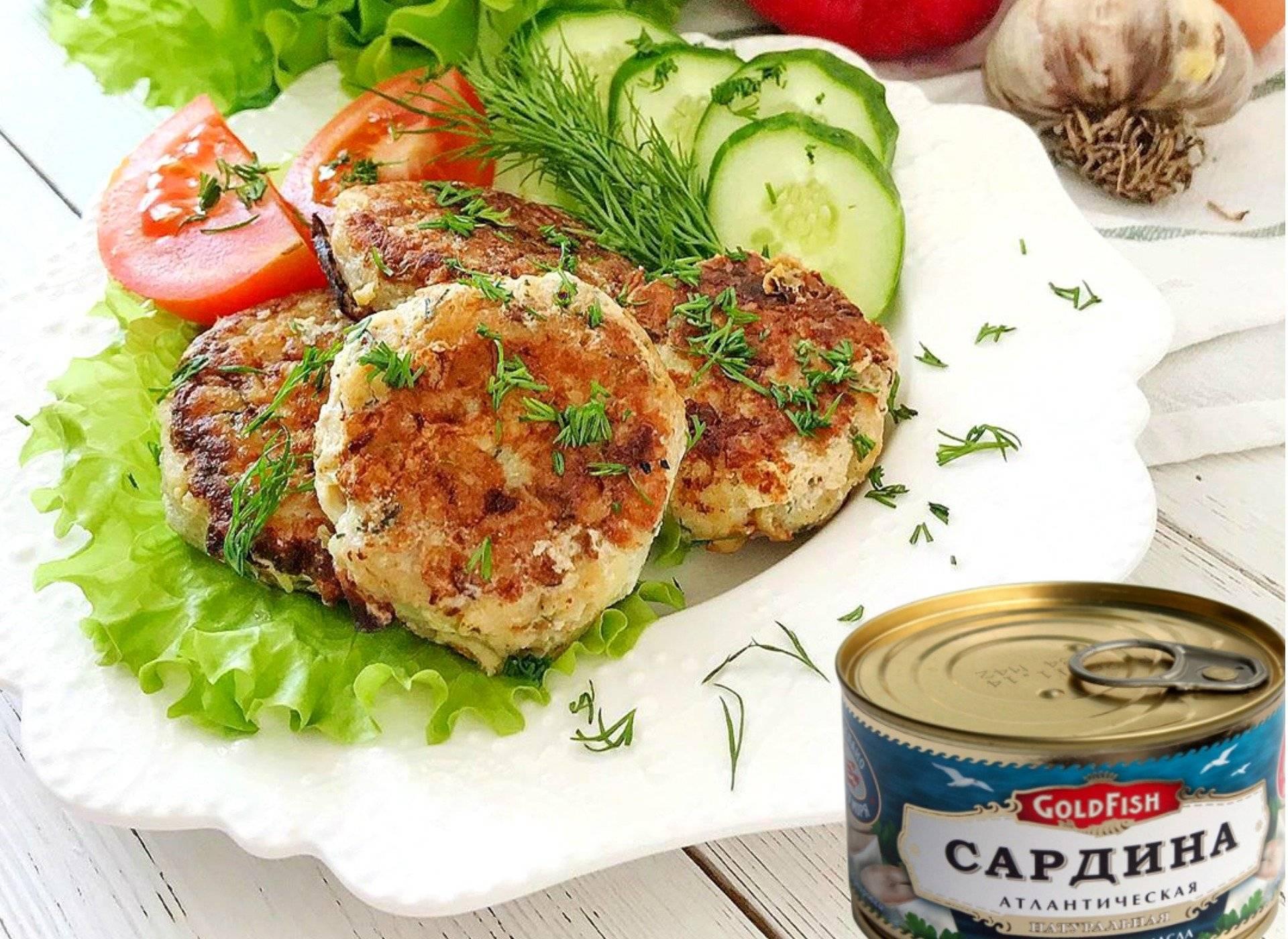 Котлеты из рыбных консервов - 8 рецептов с рисом, манкой, картофелем