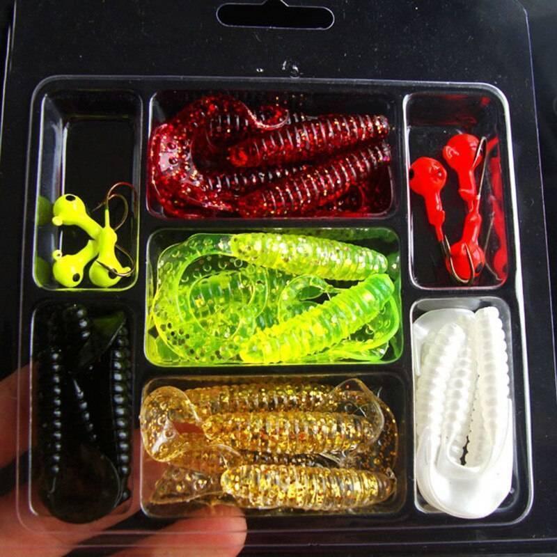 Тюнинг силиконовых приманок - как окрасить и сделать съедобной