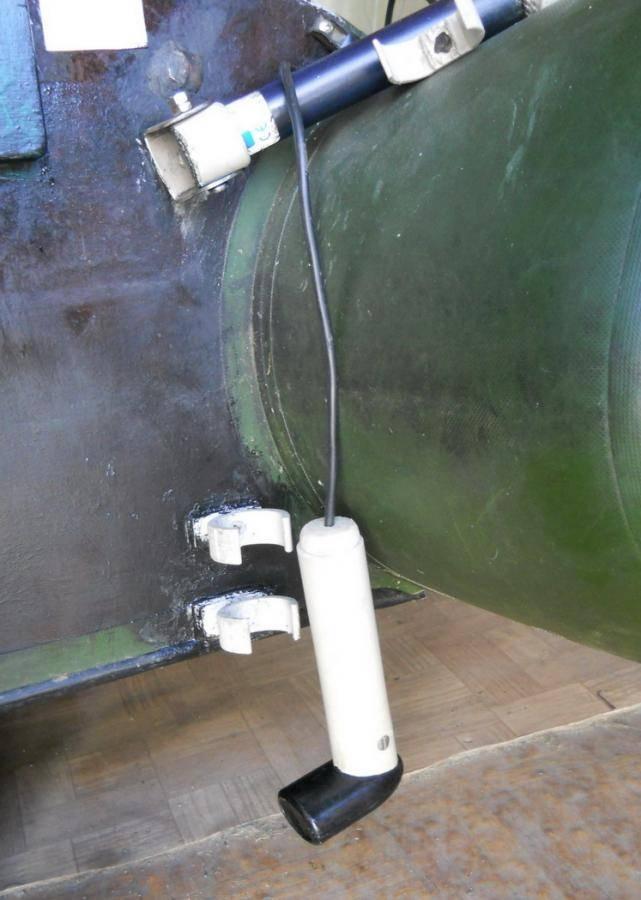 Способы крепления эхолота и его датчика на надувные лодки различной конструкции - читайте на сatcher.fish