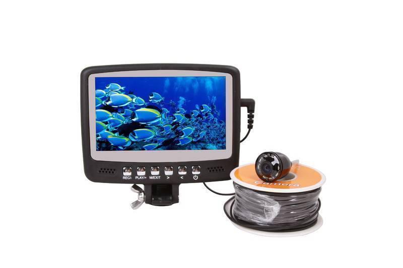 Камеры для подледной рыбалки   обзор и выбор моделей.