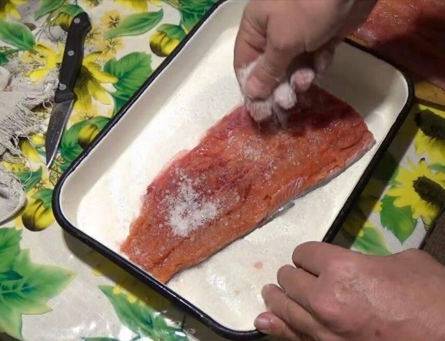 Семужный посол кеты: рецепты приготовления