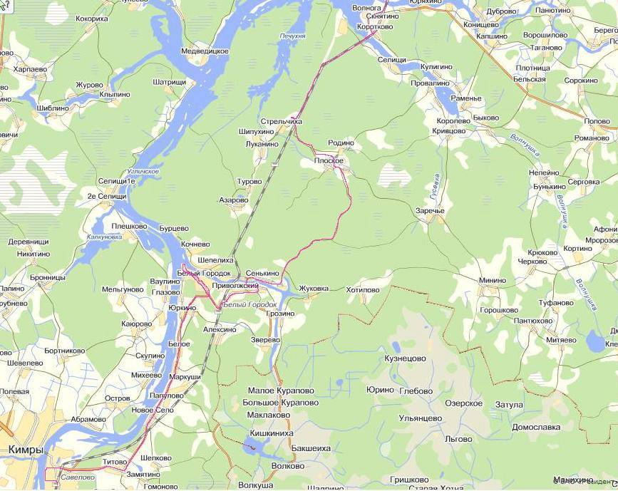 Где отдохнуть с палаткой в тверской области? карта и места стоянок | за порогом