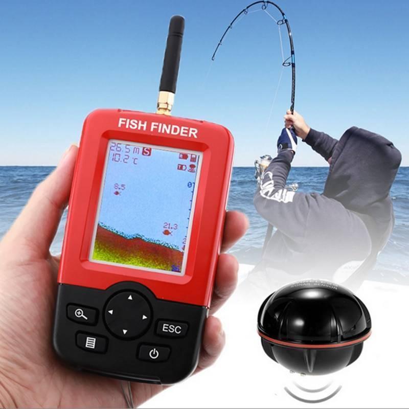 Эхолот для зимней рыбалки, разновидности и использование