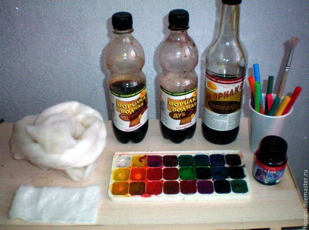 Способы покраски ткани в домашних условиях