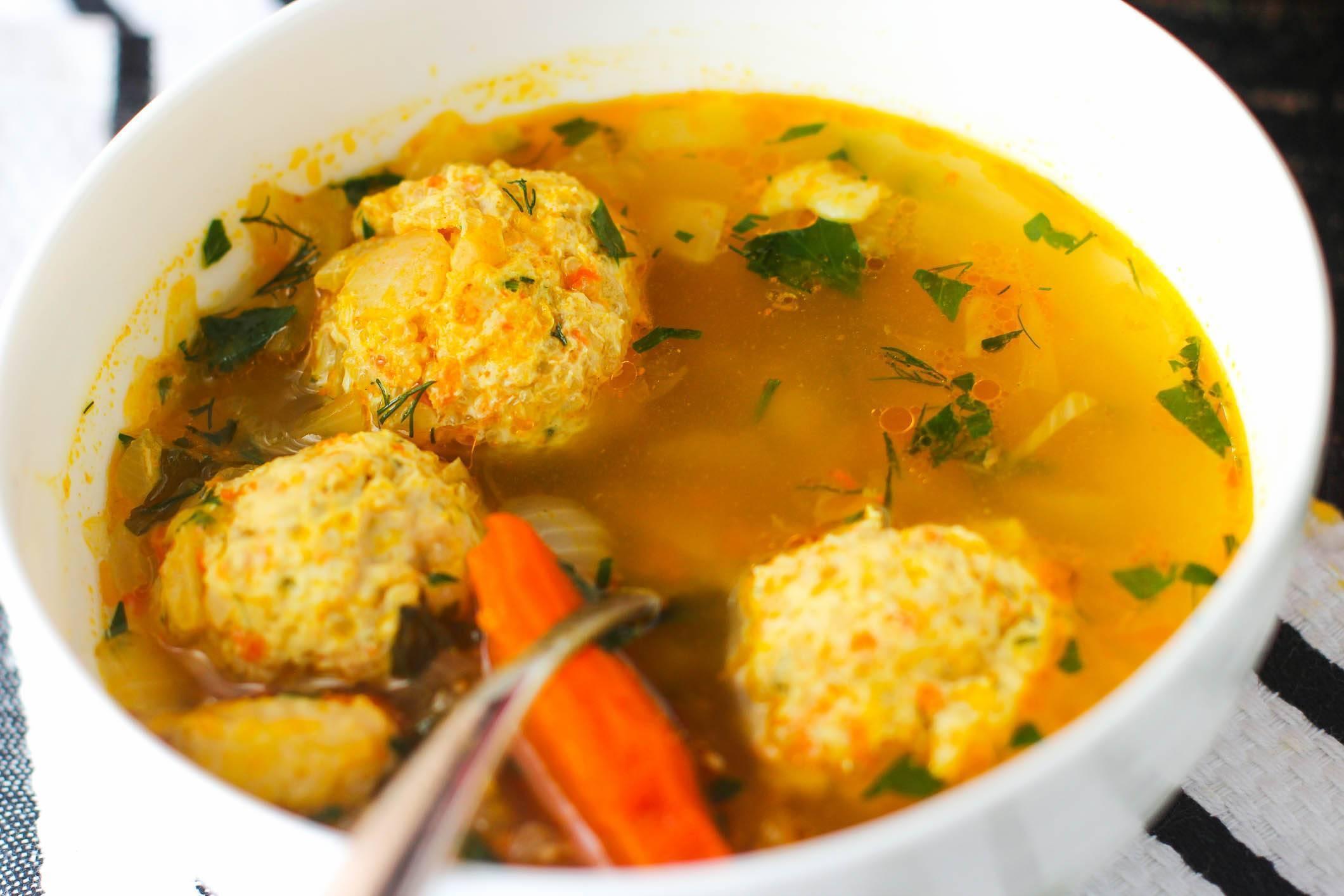 Суп с фрикадельками - 12 простых рецептов с фото и видео