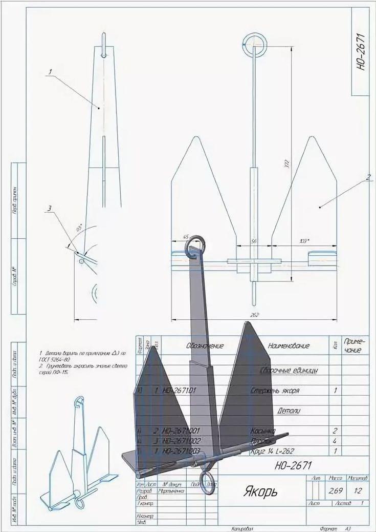 Самодельные якоря для лодок пвх - как сделать и требования к конструкции