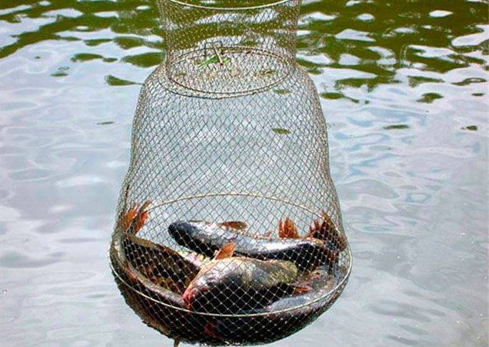 Делаем садок для рыбы своими руками