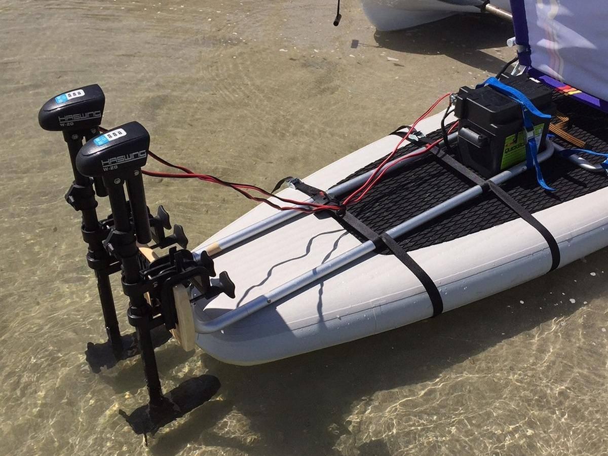 Как выбрать электромотор для надувной лодки | helptur.ru