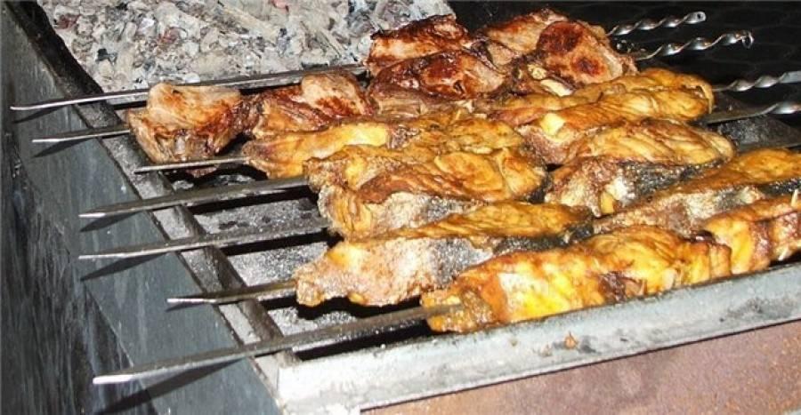Шашлык из стерляди: рецепты, как приготовить на мангале, в фольге на углях