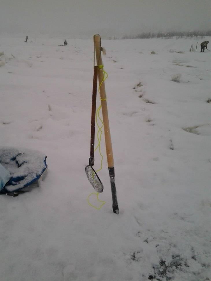 Пешня для зимней рыбалки - читайте на сatcher.fish