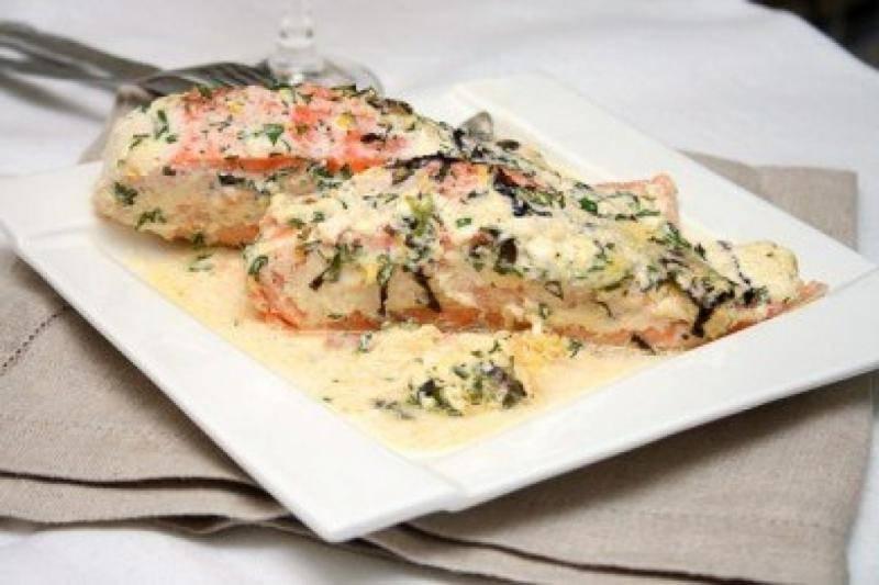 Форель в сливочном соусе / блюда из форели / tvcook: пошаговые рецепты с фото