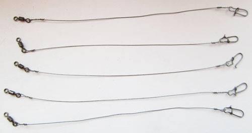Поводки на щуку: виды, как сделать своими руками