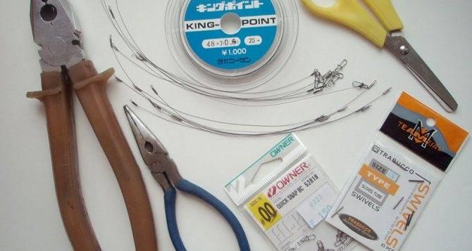 Поводок на щуку из флюрокарбона своими руками: пошаговая инструкция и устройство