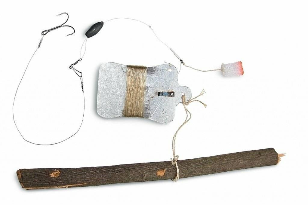 Ловля судака на тюльку зимой на жерлицы, на проставушки, как насаживать приманку, оснастка