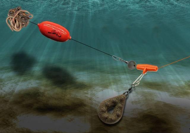 Полудонка (донка с поплавком): на течении и стоячей воде