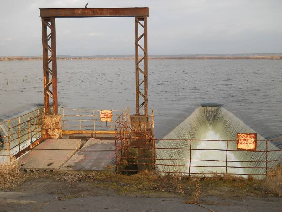 Старооскольское водохранилище — место для рыбака