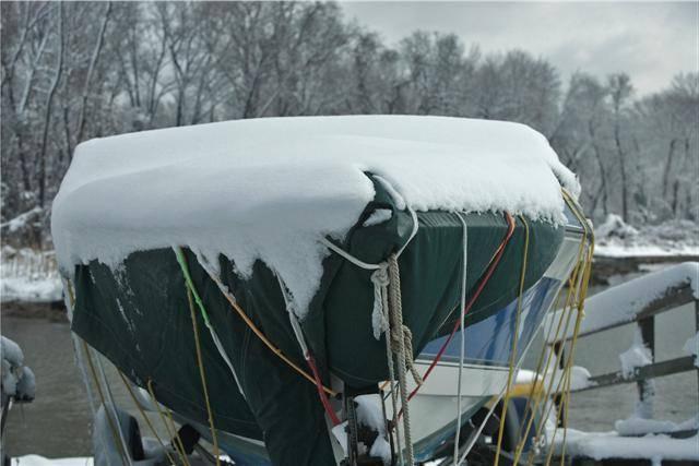 Как хранить лодку пвх зимой: создание условий хранения в гараже