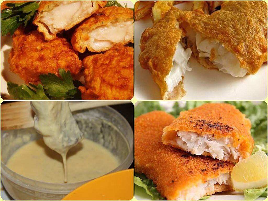 Как делать кляр для рыбы: рецепты с фото, видео
