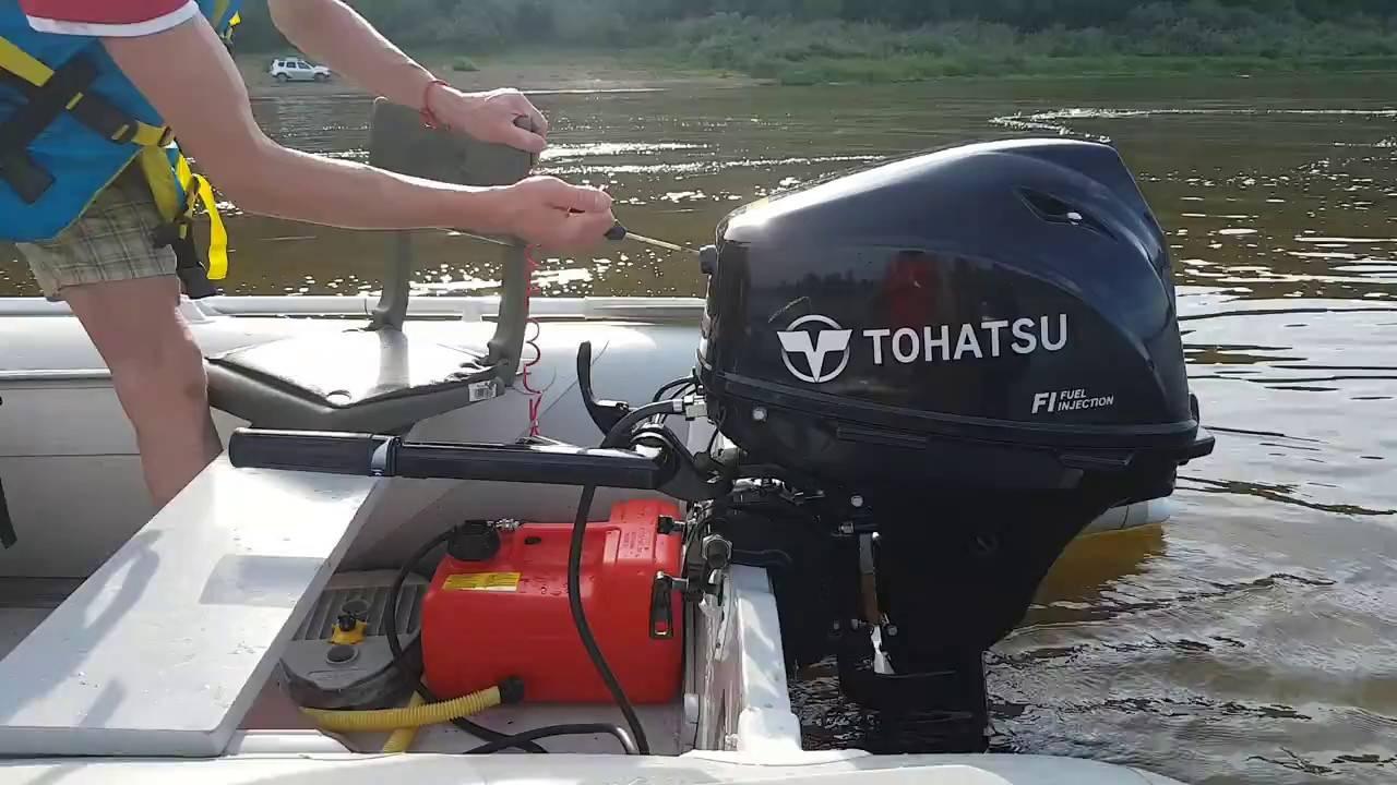 Насколько нужна обкатка подвесного лодочного мотора?