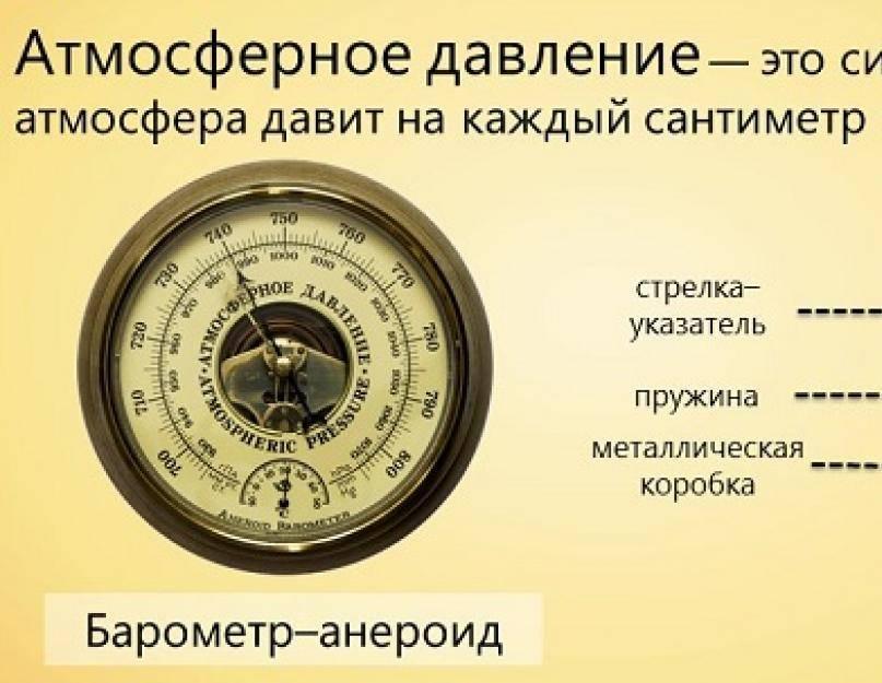 Какое атмосферное давление считается нормальным для человека и почему