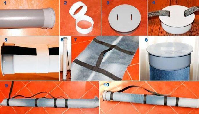 Как сделать простой чехол для удочки своими руками | дизайн и ремонт квартир своими руками