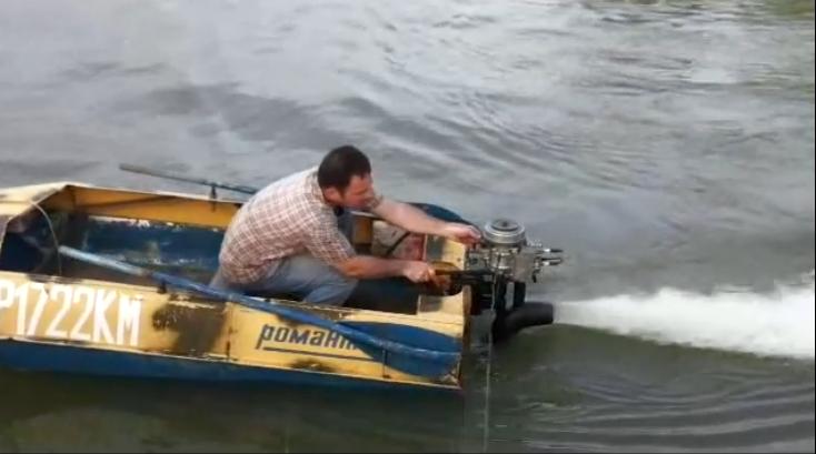 Мотор для лодки своими руками
