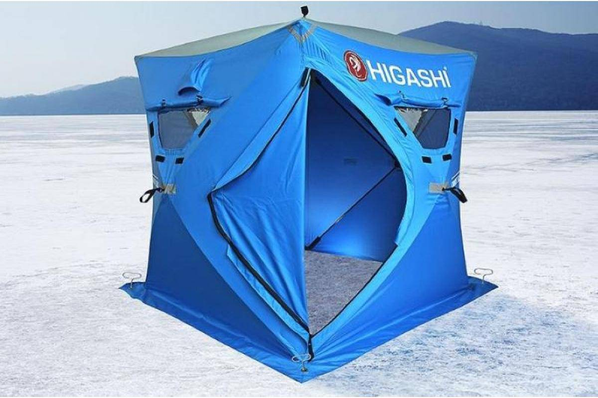 Выбираем палатки для зимней рыбалки