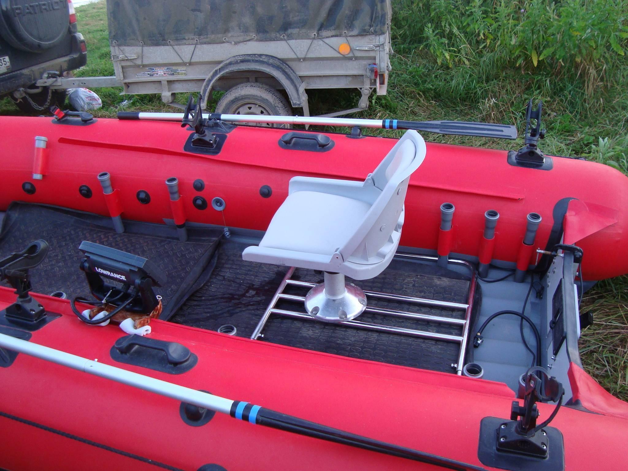 Тюнинг лодки пвх для рыбалки своими руками - варианты и советы