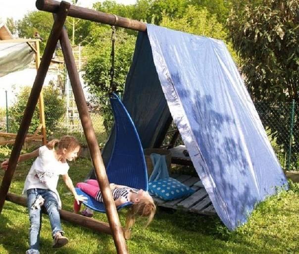 Детские палатки своими руками: 3 простых способа
