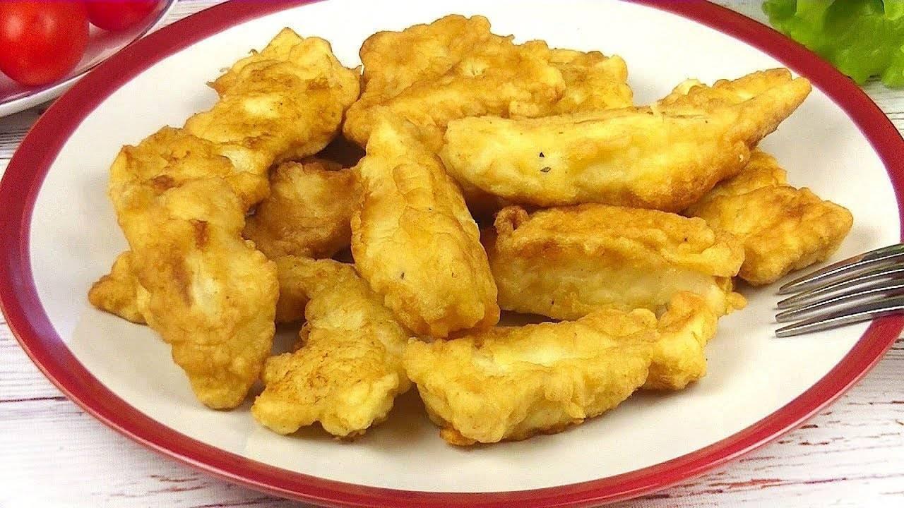 Кляр для рыбы - простой рецепт теста для вкусной хрустящей корочки