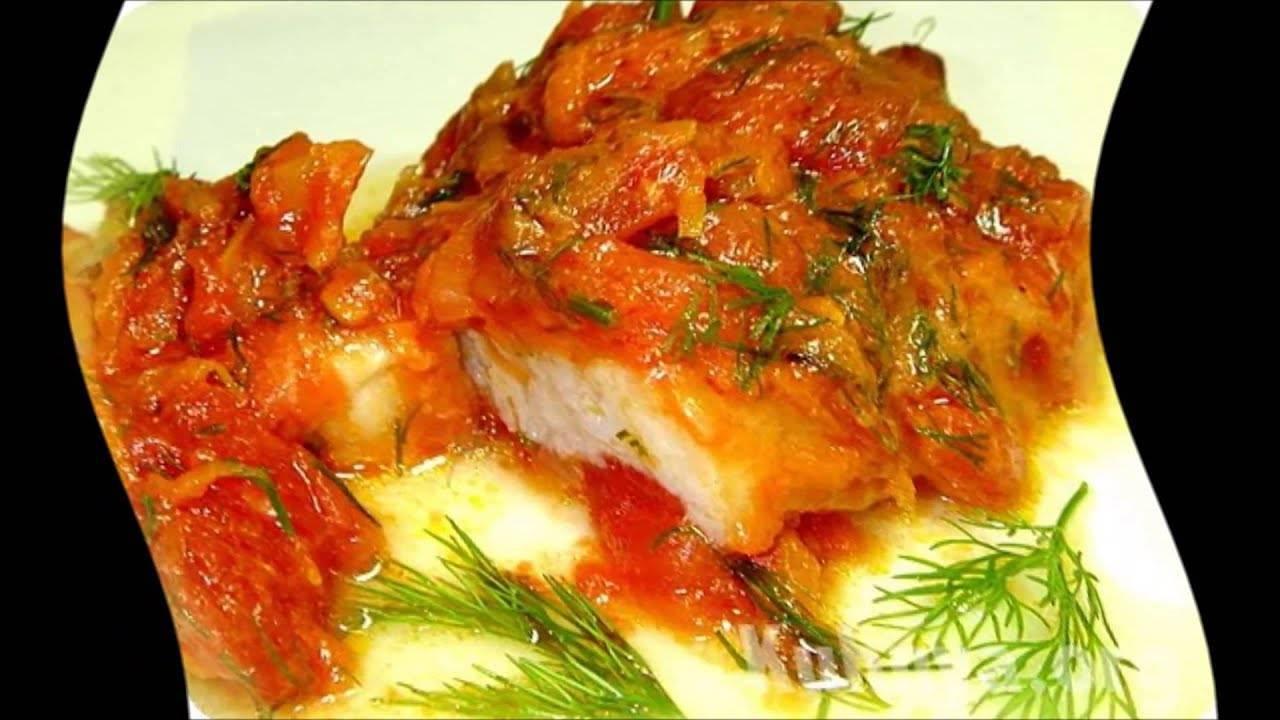 Рыба с овощами: рецепты