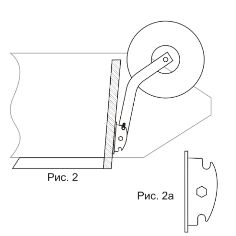 Особенности установки транцевых колес на лодку пвх