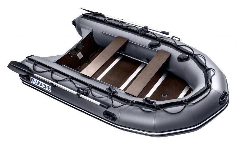 Лодка пвх риб с пластиковым дном
