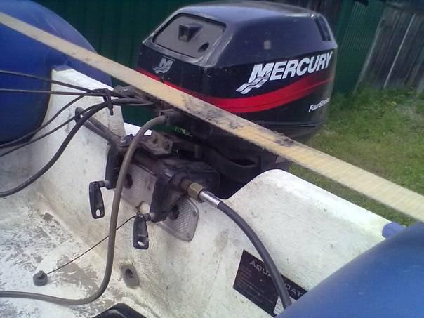 Дистанционное управление лодочным мотором своими руками — viberilodku