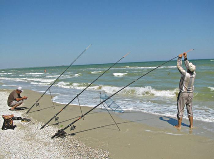 Рыбалка в азовском море