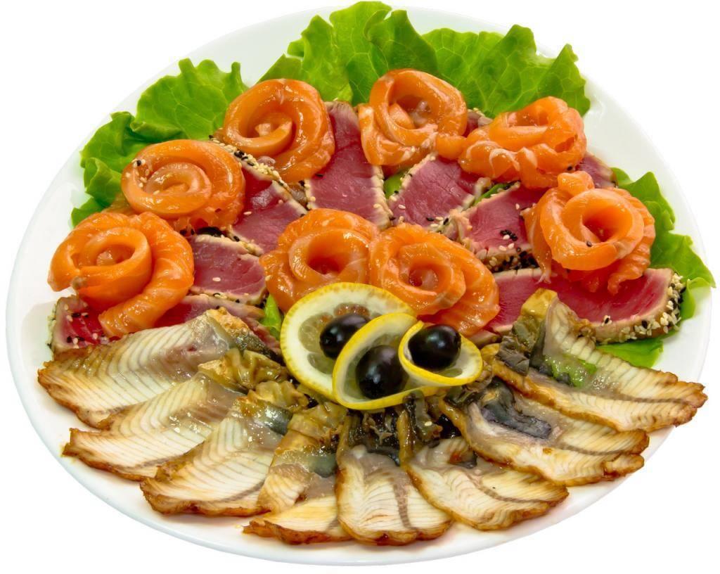 Рыбная нарезка на праздничный стол рецепт с фото пошагово и видео - 1000.menu